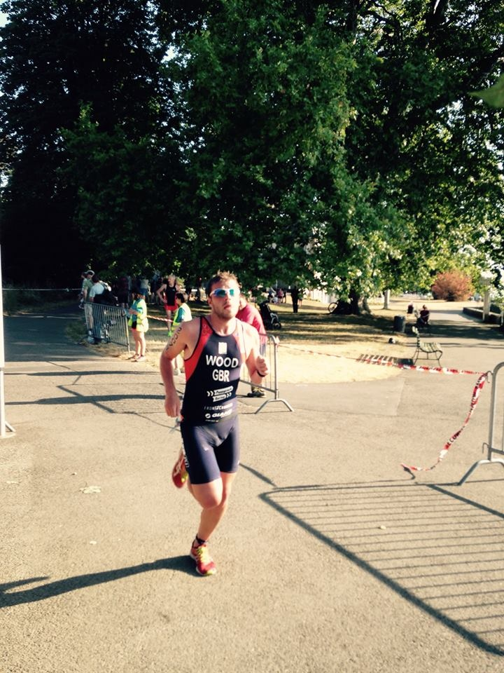 Alistair Wood - European Triathlon Championships