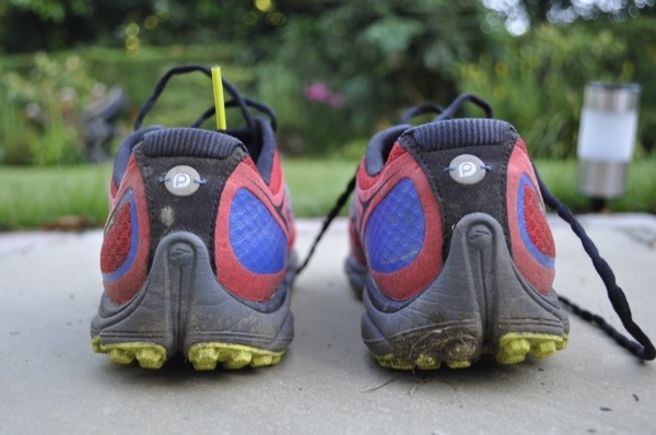Pure Grit 3 shoe review heel