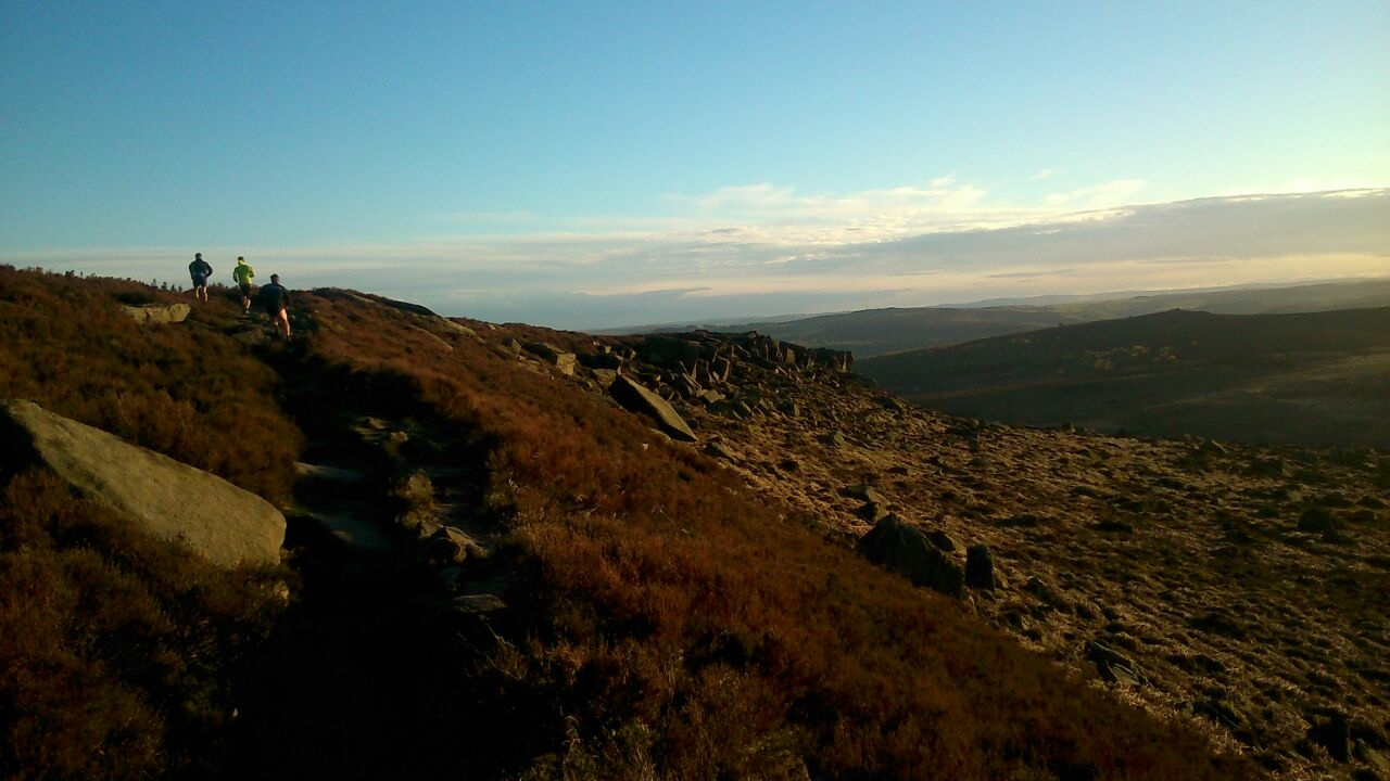 Burbage trail running
