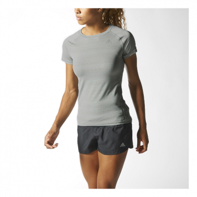 womens supernova ss tee grey model