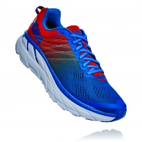 Hoka One One Clifton 6 Red:Blue Mens 1