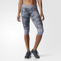 Adidas -Supernova 3 4 Tight - Grey - 1