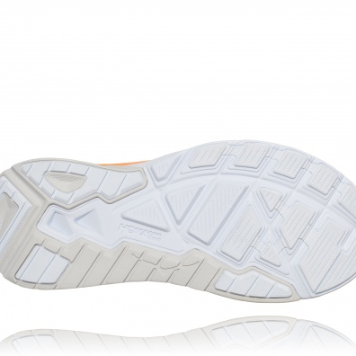 Hoka arahi 4 womens grey:orange 6